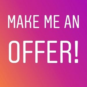 Don't be afraid to make an offer 😁